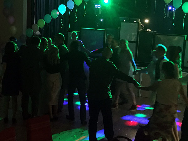 Nat & Paul's wedding reception with Imagine Entertainment