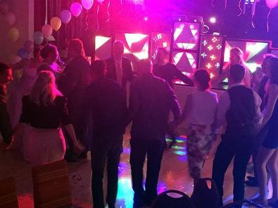 Nat & Paul's wedding reception using the Retro Roadshow