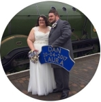 Laura & Dan's wedding reception at Burleigh Hill Farm Barn in Cambridgeshire